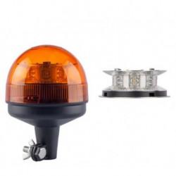 LAMPA BLYSKOWA 12/24V OBROTOWA LED  WYS.175MM HOMOLOGACJA
