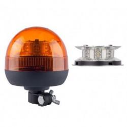 LAMPA BLYSKOWA 12/24V OBROTOWA LED HOMOLOGACJA WYS.160MM
