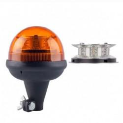 LAMPA BLYSKOWA 12/24V OBROTOWA LED HOMOLOGACJA WYS.190MM