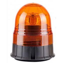 LAMPA BLYSKOWA 12/24V OBROTOWA LED  MOCOWANE NA MAGNES NA 3 SRUBY